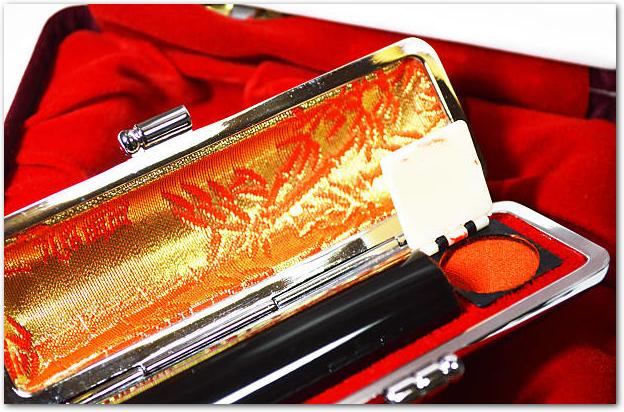 印鑑2本セット女性へのプレゼントに最適な実印・銀行印はこちら!